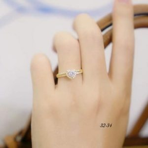 nhẫn vàng cầu hôn nàng