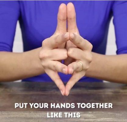 ví dụ nhỏ để thấy điều đặc biệt của ngón tay