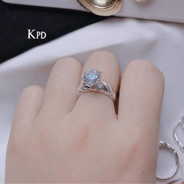 Nhẫn bạc đẹp cho nàng